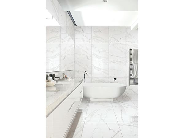 Pictures Of White Marble Series Polished Porcelain Tile